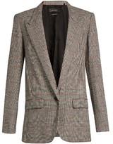Isabel Marant Kiana Prince of Wales-checked jacket