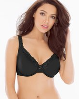 Soma Intimates Unlined Lace Trim Bra