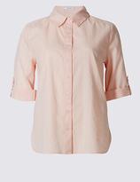 Classic Pure Cotton Short Sleeve Shirt