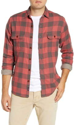 Faherty The Buffalo Regular Fit Plaid Button-Up Work Shirt
