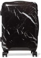 CalPak Astyll Carry-on Marbled Hardshell Suitcase - Black
