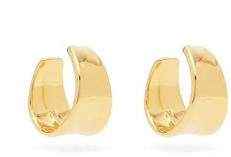 Sophie Buhai Wave Large 18kt Gold-vermeil Hoop Earrings - Gold