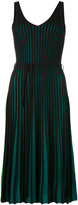Kenzo ribbed dress - women - Cotton/Viscose - M