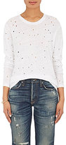 IRO Women's Marvina Distressed Linen T-Shirt