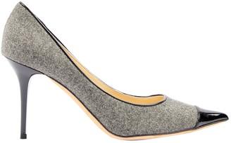 Jimmy Choo Grey Tweed Heels