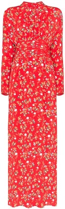 By Ti Mo Bytimo floral print maxi dress