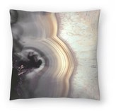 """Taupe Agate Throw Pillow East Urban Home Size: 14"""" H x 14"""" W x 1.5"""" D"""