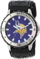 Game Time Men's NFL-VET-MIN Veteran Custom Minnesota Vikings Veteran Series Watch