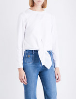 Chloé Knotted cotton top