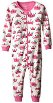 Hatley Pretty Crowns Sleepy Romper (Infant)