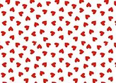 SheetWorld Fitted Square Playard Sheet (Fits Joovy) - Primary Hearts Woven - Made In USA - 37.5 inches x 37.5 inches (95.25 cm x 95.25 cm)