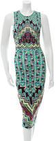 Mara Hoffman Geometric Print Midi Dress w/ Tags
