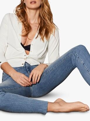 Mint Velvet Houston Distressed Jeans, Blue