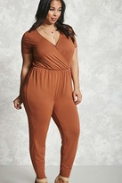 Forever 21 Plus Size Surplice Jumpsuit