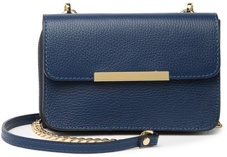 Persaman New York Bellia Convertible Leather Clutch