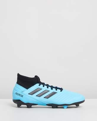adidas Predator 19.3 Firm Ground Boots - Men's