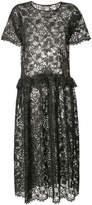 Uma Wang lace maxi-dress