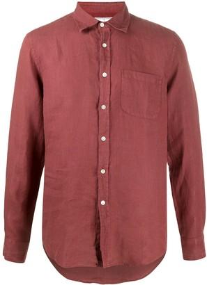 Portuguese Flannel Patch-Pocket Linen Shirt