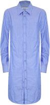Dondup Long Sleeve Pin Striped Gnosia Shirt