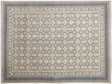 One Kings Lane 9'1x11'11 Bekzod Rug, Ivory/Blue