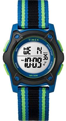 Timex Kids TW7C26000 Time Machines Digital 35mm Double-Layered Nylon Strap Watch