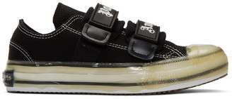 Palm Angels Black Logo Vulcanized Sneakers