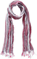 Joe Fresh Women's Crinkle Scarf, Red (Size O/S)