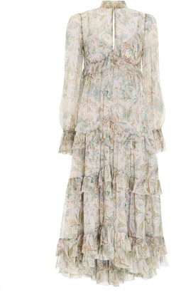 Zimmermann Lucky Gathered Frill Dress