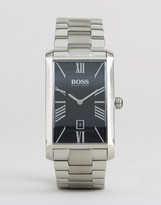 HUGO BOSS BOSS By Admiral Classic Stainless Steel Square Watch