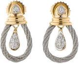 Charriol Classique Diamond Drop Earrings
