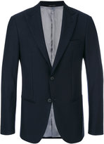 Giorgio Armani single breasted blazer - men - Viscose/Virgin Wool - 46