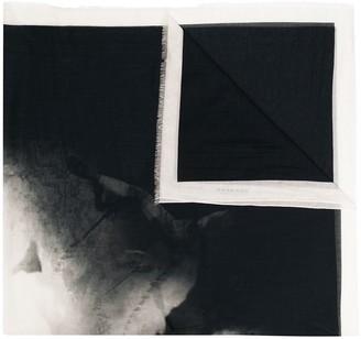 Rick Owens Printed Silk-Blend Scarf