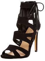Lipsy Caged Lace Up Sandals