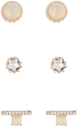 Area Stars Stud Earrings - Set of 3