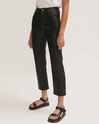 Jigsaw Lea Leather Jean