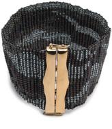 Alexis Bittar Handwoven Beaded Bracelet