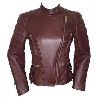 Celine Brown Leather Jackets