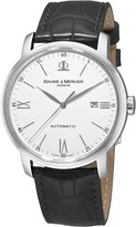 Baume & Mercier Baume and Mercier 8592 Men's Classima Automatic Leather Strap Watch