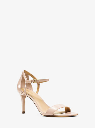 Michael Kors Simone Patent-Leather Sandal