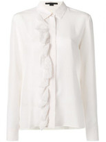 Stella McCartney Ruffled crepe de Chine blouse