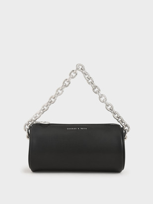 Charles & Keith Chain Handle Crossbody Bag