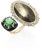 Alexis Bittar Custom Gemstone Cocktail Ring