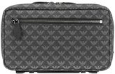 Emporio Armani logo print clutch - men - Leather/PVC - One Size