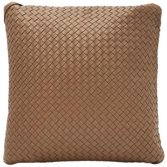 Bottega Veneta Intrecciato Leather Cushion - Brown