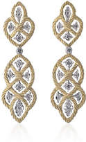 Buccellati Etoilee Pendant Earrings with Diamonds