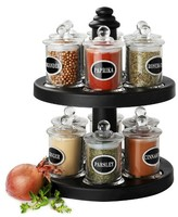 Olde Thompson 12 Jar Candy Spice Rack
