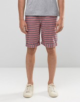 Bellfield Cotton Striped Shorts