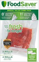 FoodSaver 6-pk. Heat-Seal Rolls
