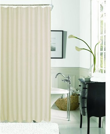Hotel Collection Dainty Home Exclusive Spa 251 Waffle Shower Curtain
