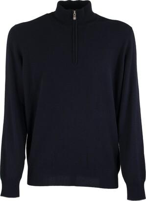 Brunello Cucinelli Cashmere Turtleneck Sweater With Zipper